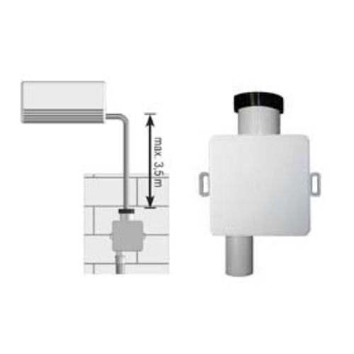 HL 138 klímaszifon falon belüli